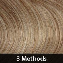 Hair Extension 3 Methods